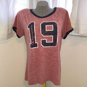 Women's Champion Shirt Sleeve Tee Shirt Authentic Athletic Wear